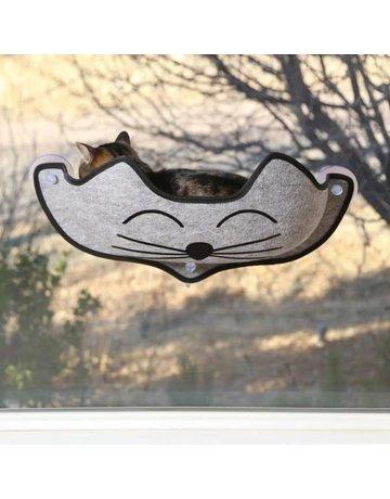 K&h K&H lit en forme de visage de chat //