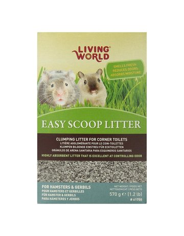 Living World Living world litière absorbante pour hamster (boîte)