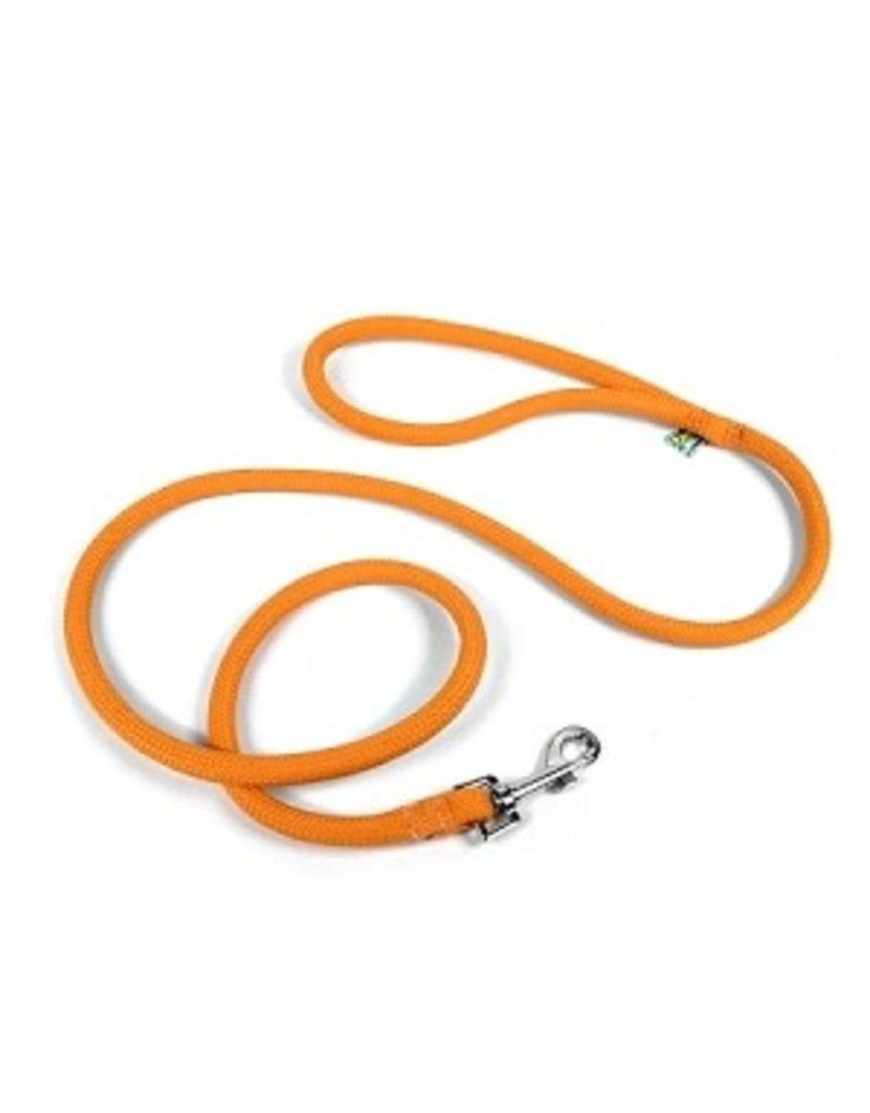 Yellowdog Yellowdog round braided orange laisse 3/4'' x 60''