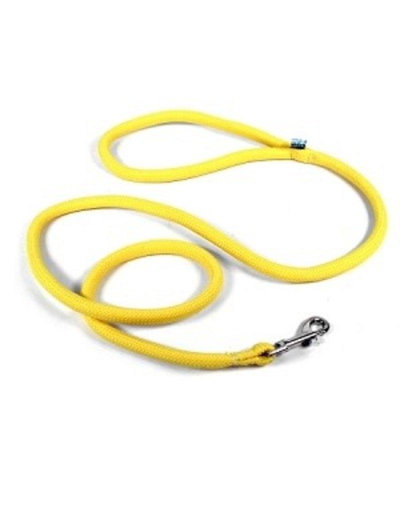 Yellowdog Yellowdog round braided jaune laisse 3/4'' x 60''
