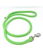 Yellowdog Yellowdog round braided vert pâle laisse 3/4'' x 60''