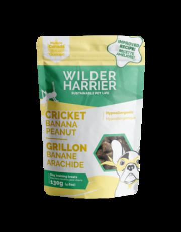 Wilder Harrier Wilder Harrier grillon, banane et arachide 130g //