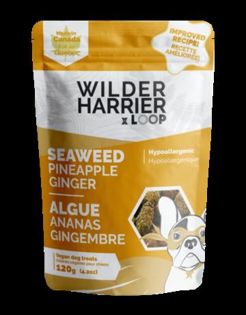 Wilder Harrier Wilder Harrier gâteries algue, ananas et gingembre 120gr //