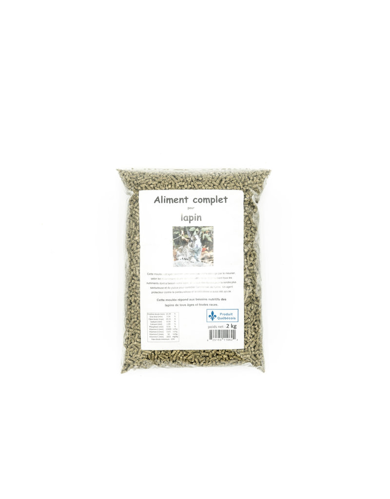 Domaine Animal Aliment complet pour lapin 2kg