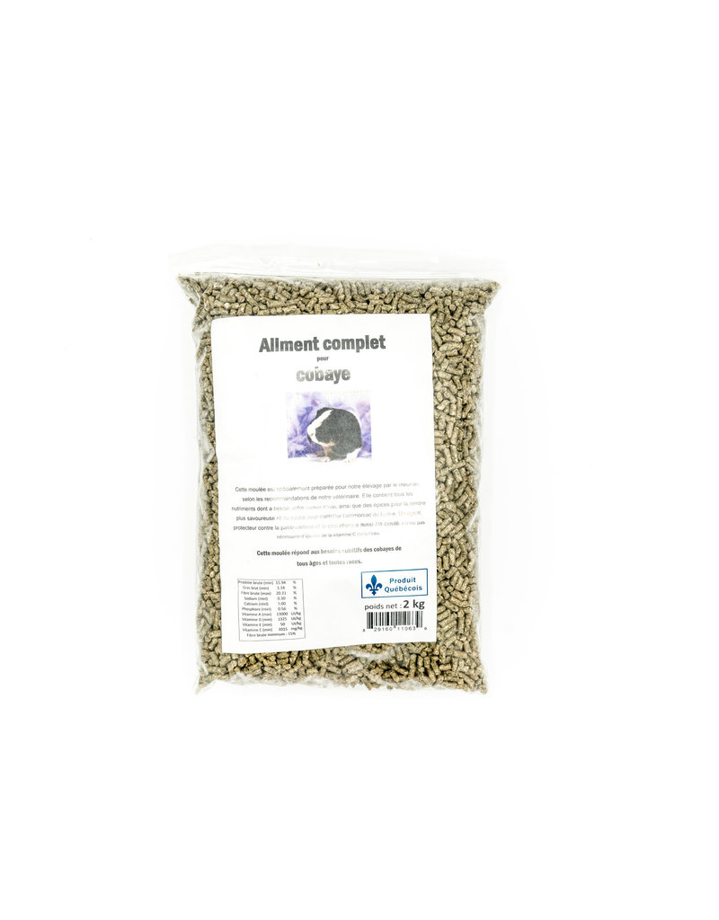 Domaine Animal Aliment complet pour cobaye 2kg