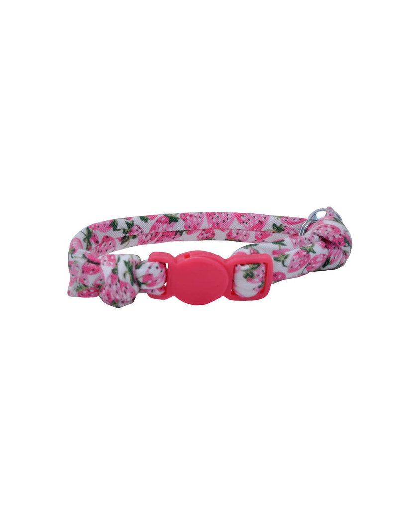 """Coastal Coastal li'l pals safety collar pour chats fraises rond 5/16""""x8"""" STW"""