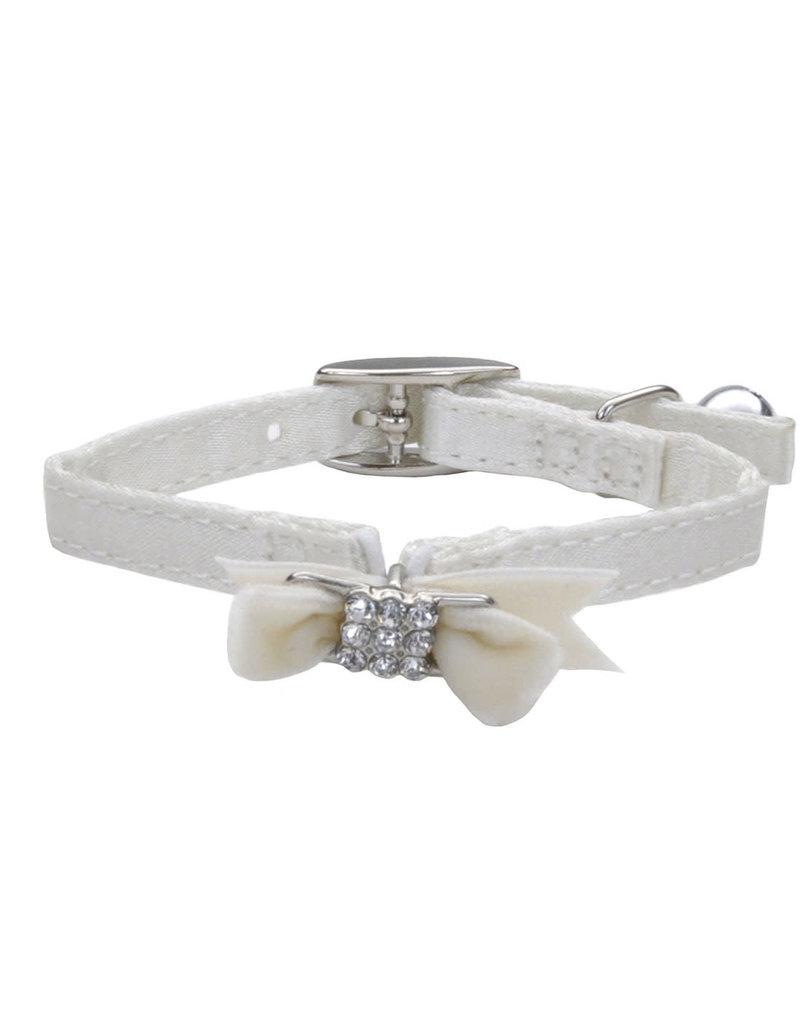 "Coastal Coastal li'l pals safety collar pour chats blanc avec boucle 5/16""x8"" WTS"