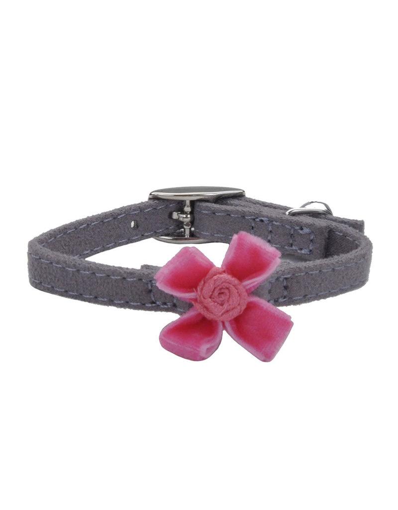 """Coastal Coastal li'l pals safety collar pour chats gris avec boucle rose 5/16""""x8"""" PGY"""
