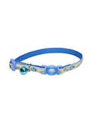 Coastal Coastal safecat collier ajustable chat poisson bleu