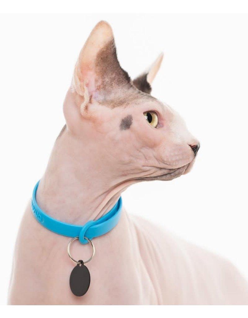 nuvuq Nuvuq collier pour chat bleu bleuet