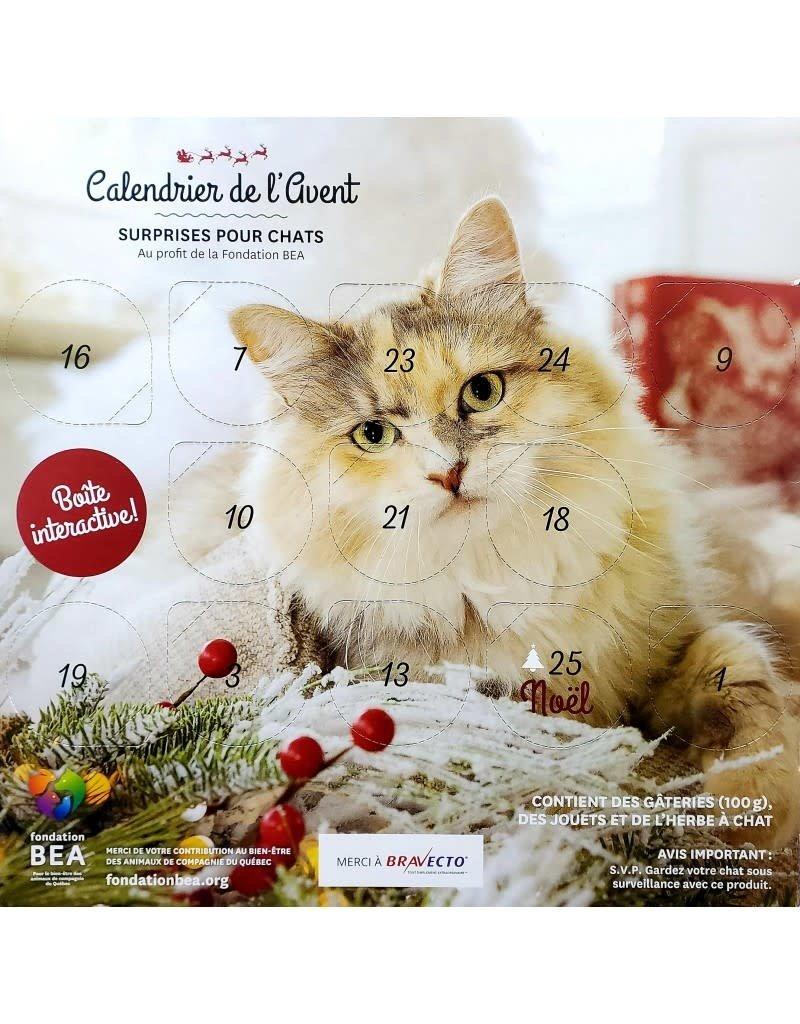 BEA Fondation BEA calendrier de l'Avent pour chat