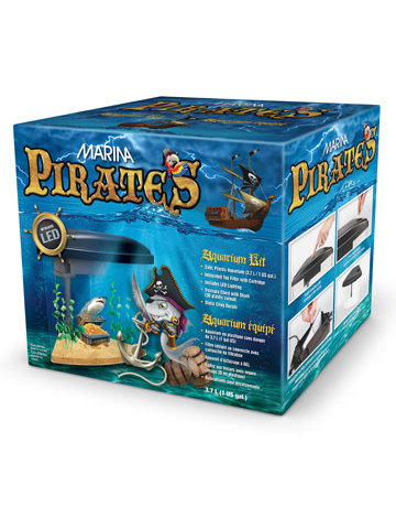 Marina Marina pirates aquarium 3.7L