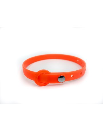 nuvuq Nuvuq collier pour chat orange tangerine