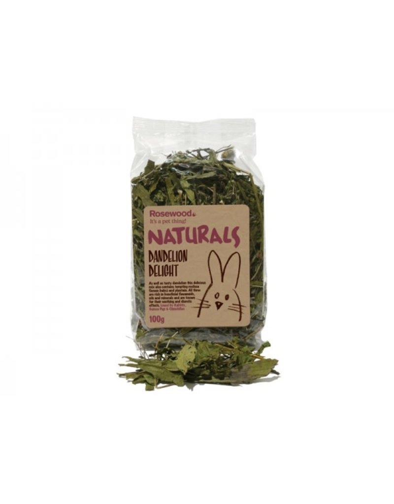 Rosewood Rosewood naturals dandelion delight  100g (6) //