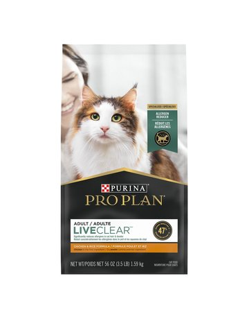 Purina Purina proplan adulte liveclear saumon et riz 3.18kg (5)