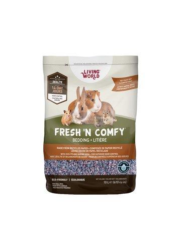 Living World Fresh N comfy litière confetti 10 litres //