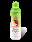 Tropiclean Tropiclean 2-en-1 pour animaux papaye et noix de coco   20oz