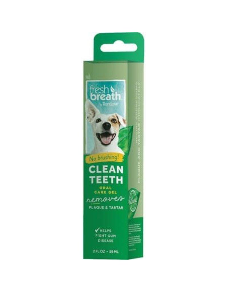 Tropiclean Tropiclean fresh breath gel nettoyant pour les dents de chiens 2oz