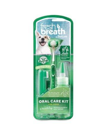Tropiclean Tropiclean fresh breath trousse dentaire moyen/grand chien