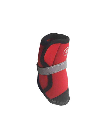 Silver paw Silver paw bottines rouges petites ,