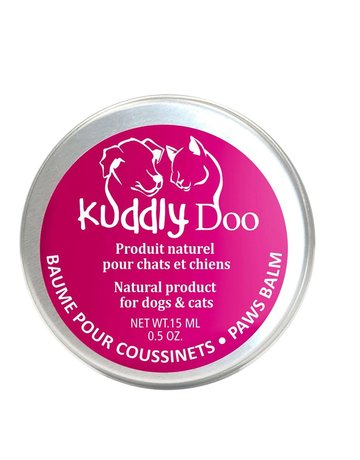Kuddly Doo Kuddly Doo baume pour coussinets pour chats et chiens (24)