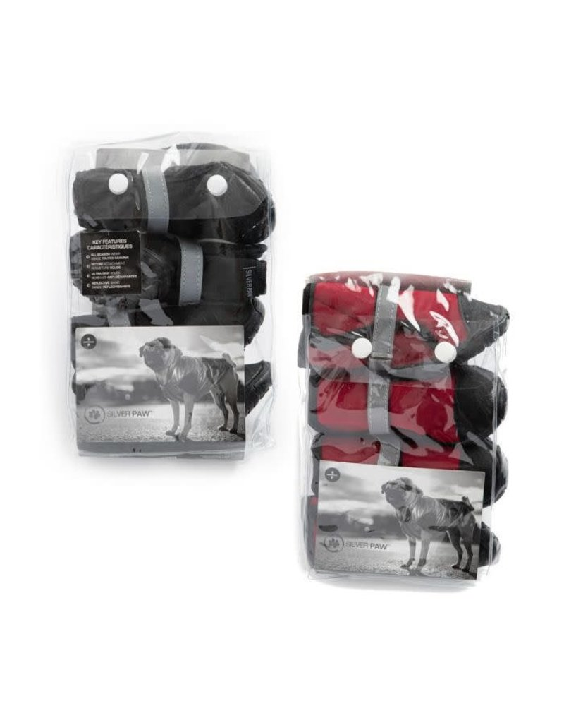Silver paw Silver paw bottines rouges Tpetites , -