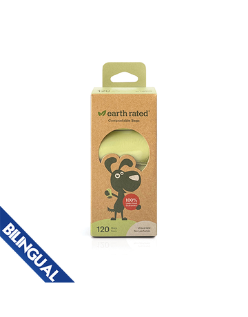 Earth rated Earth rated sac compostable //