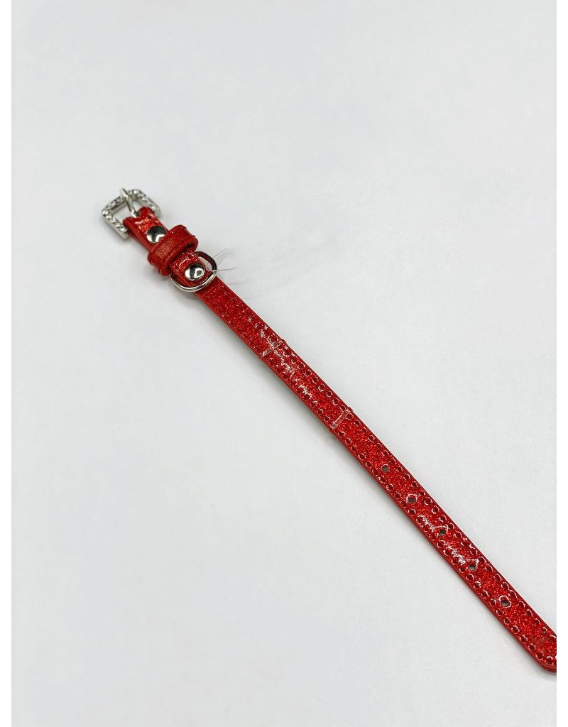 J&C J&C collier rouge 3-8''.