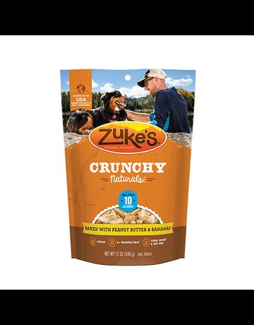 Zuke's Zuke's crunchy naturals beurre d'arachides et bananes 12oz -