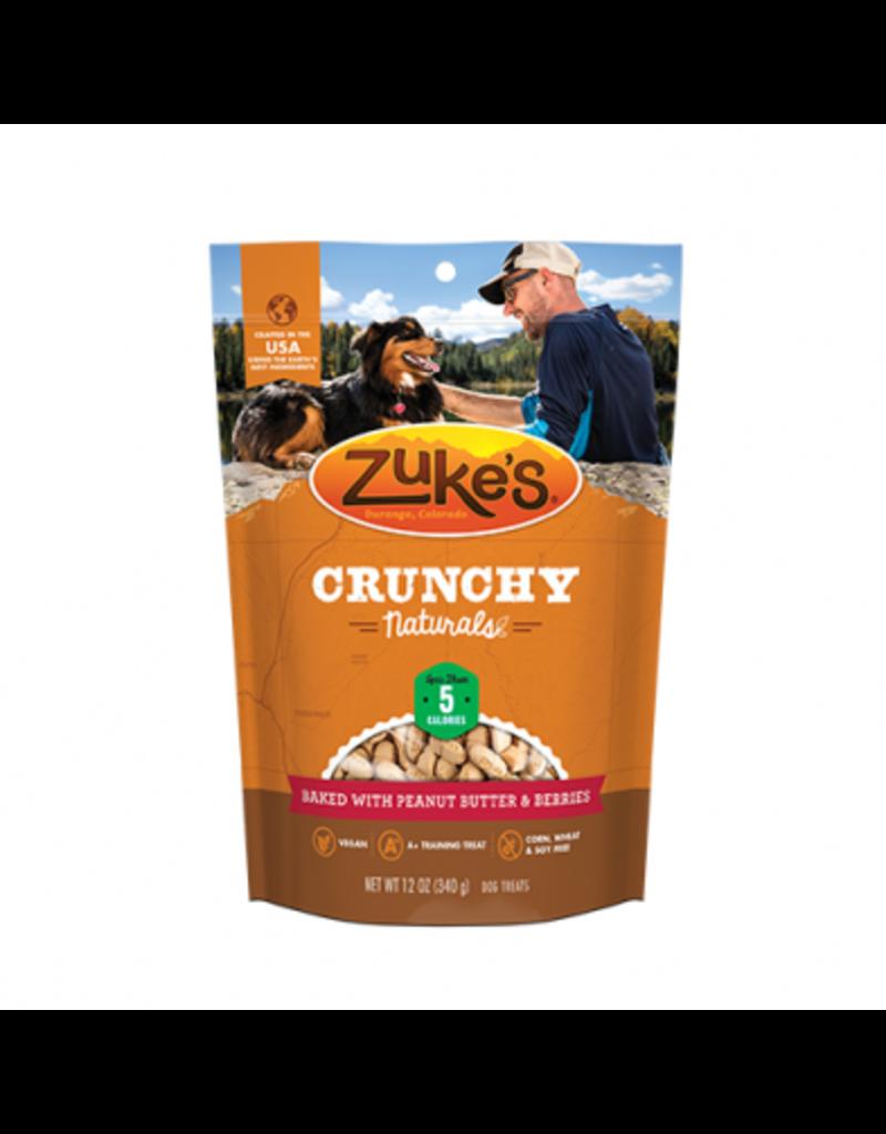 Zuke's Zuke's crunchy naturals beurre d'arachides et baies 12oz -