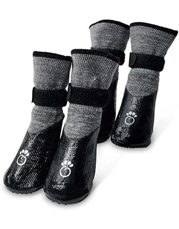 Go Fresh pet Go Fresh Pet Booties gris charcoal