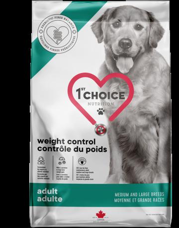 1st choice 1st choice chien contrôle du poids moyenne et grande races 10kg