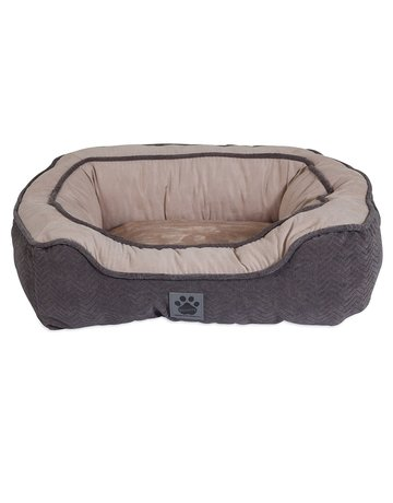 Precision pet products Precision snoozzy coussin gris 32x25x10.5 //