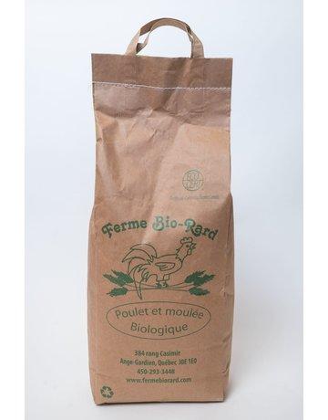 Ferme Bio-Rard Bio-Rard moulée pour poulet croissance 18.5% 25kg
