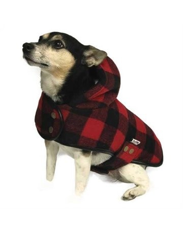 Doggie-q Doggie-q lumberjacket rouge