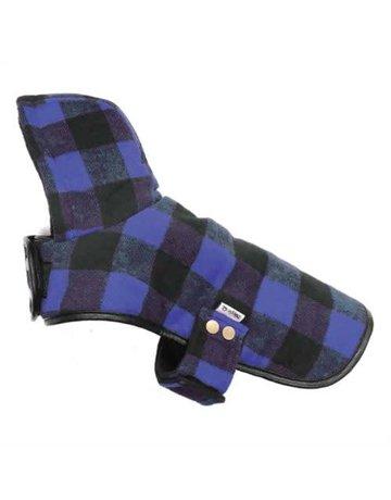 Doggie-q Doggie-q lumberjacket bleu
