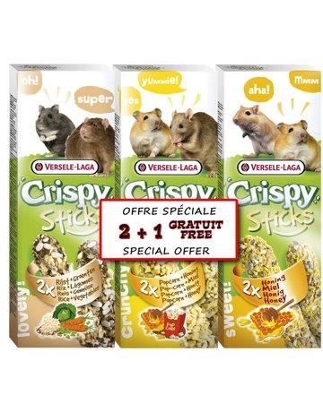 Versele-Laga Versele-Laga crispy sticks 2 morceaux en paquet de 3  (8)
