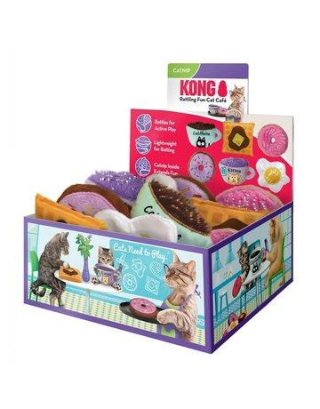 Kong Kong jouets assorties pour chat avec herbe à chat (12)//