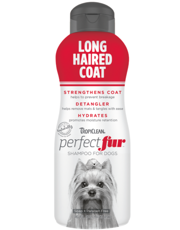 Tropiclean Tropiclean perfect fur shampoing pour poil long 16oz //