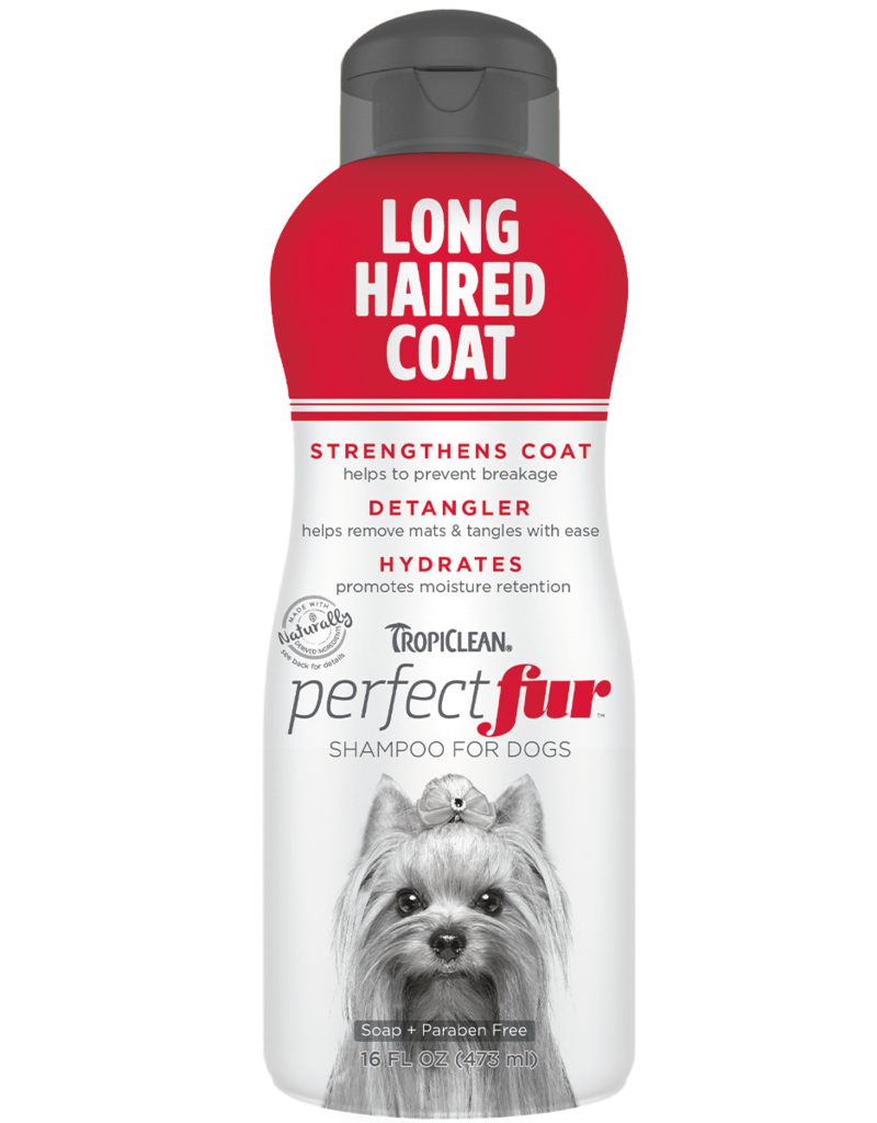 Tropiclean Tropiclean perfect fur shampoing pour poil long 16oz //