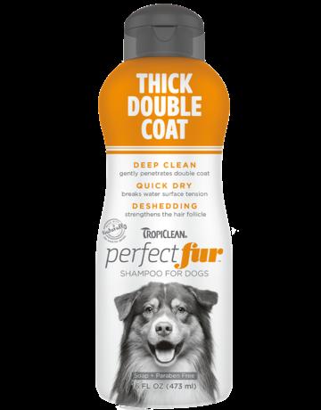 Tropiclean Tropiclean perfect fur shampoing pour sous-poil épais  16oz //