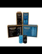 Maskot Maskot sacs compostables 15/un x 20 rouleau os bleu