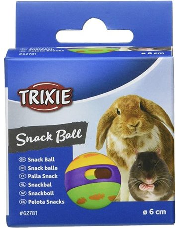 Trixie Trixie balle à friandises pour petits animaux