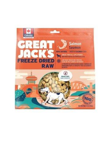 Canadian Jerky Canadian Jerky Great Jack's saumon lyophilisé pour chiens 1oz