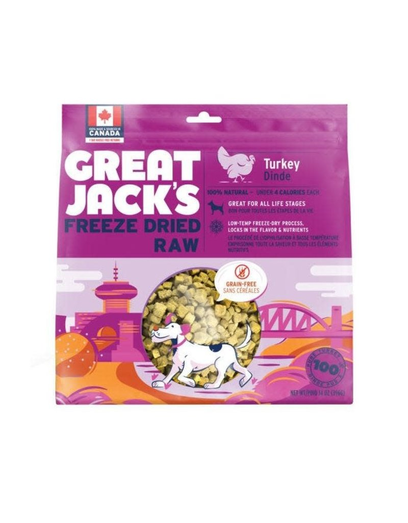 Canadian Jerky Canadian Jerky Great Jack's poulet lyophilisé pour chiens 1oz