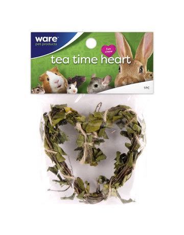Ware pet products Ware coeur de bâtonnets de thé Tea time
