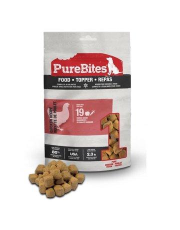 Purebites Purebites toppers au poulet 85 g //