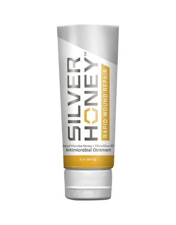 Silver honey Silver honey pommade pour soins des plaies 56.7g //**