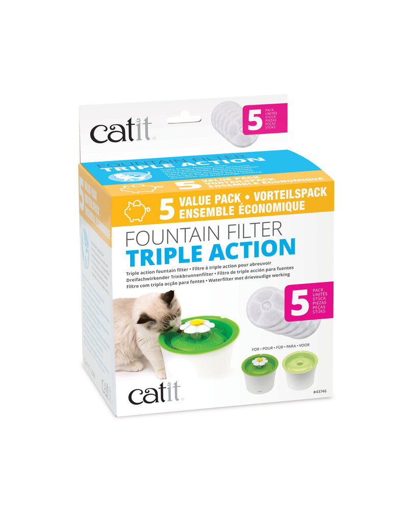 Catit Catit filtres 2.0 triple action pq de 5
