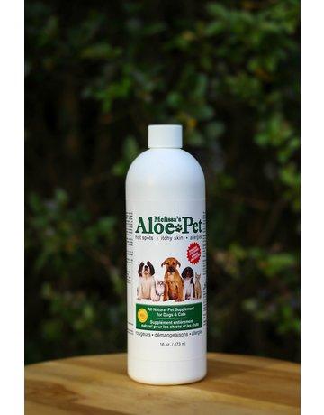 Melissa's aloe Melissa's aloe supplément naturel pour chiens et chats 16oz